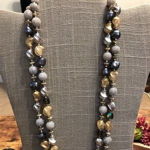 Antique. Glam beads. Necklace.